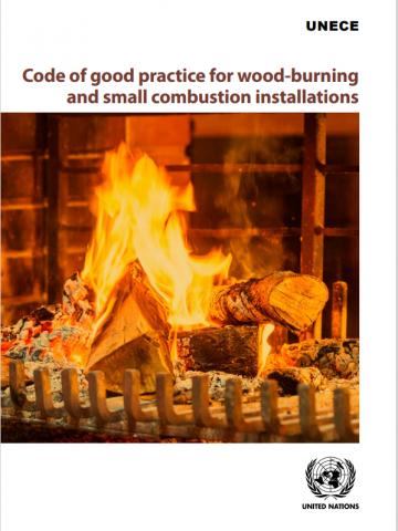 copertina codice di buone pratiche per gli impianti di combustione a legna e di piccole dimensioni