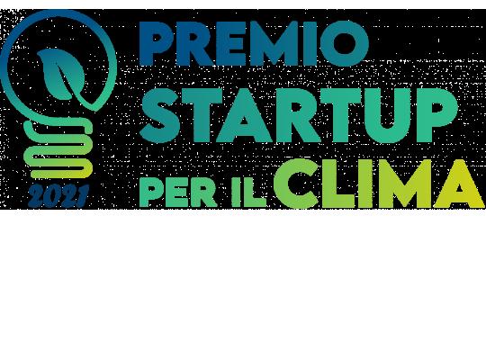 logo premio startup per il clima 2021