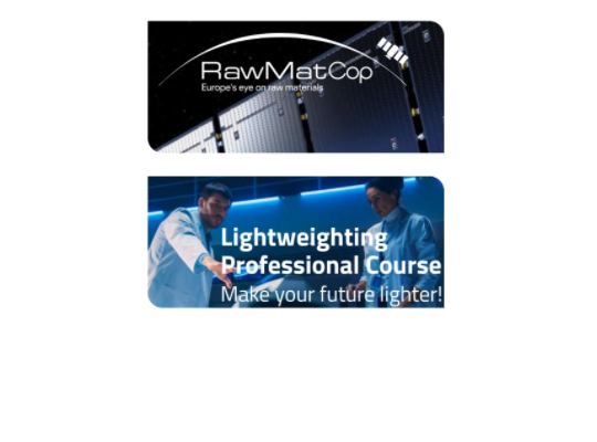 immagine dei corsi RawMatCop Academy e Lightweighting Professional Course