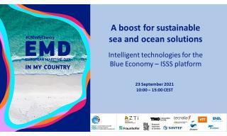 Presentazione della Piattaforma Sustainable Subsea Solutions - Intelligent Technologies for the Blue Economy