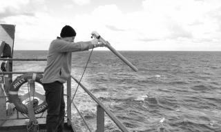 Lancio sonda XBT (eXpendable BathyThermograph)