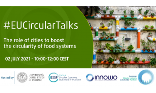 Evento The role of cities to boost the circularity of food systems