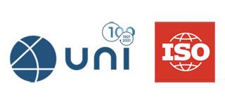 Logo UNI e ISO